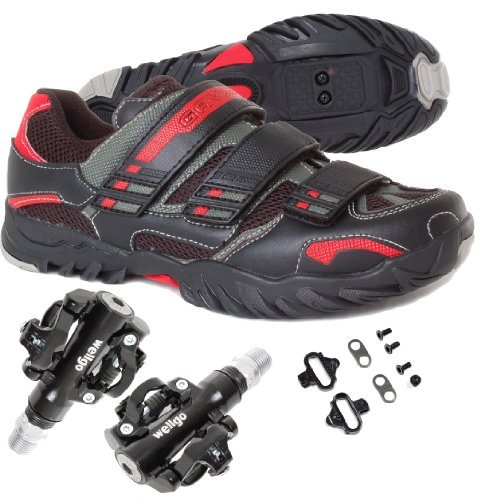 MTB Mountain / Spin Cycling Bike Shoe Shimano SPD with Pedals and Cleats